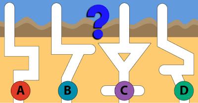 Test de Inteligencia : Por cuál túnel caerá primero el agua?