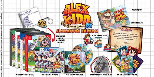 alex kidd signature edition
