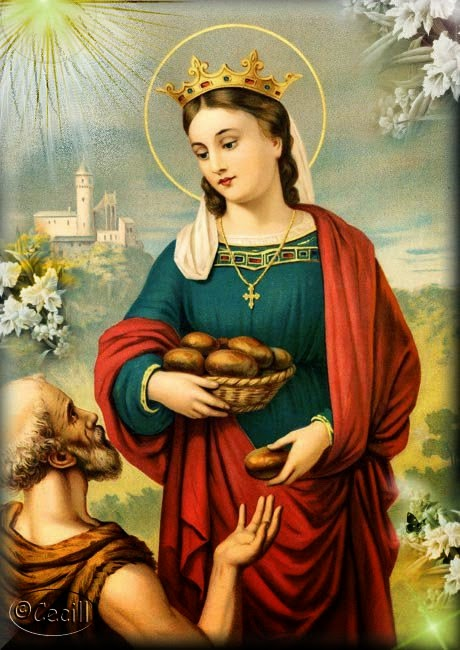 sveta Elizabeta Ogrska (Turinška) - grofica in tretjerednica