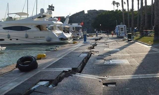 Κως: Τέλη Φεβρουαρίου ολοκληρώνεται η αποκατάσταση των ζημιών του σεισμού