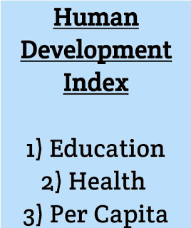 What is Human Development Index ?
