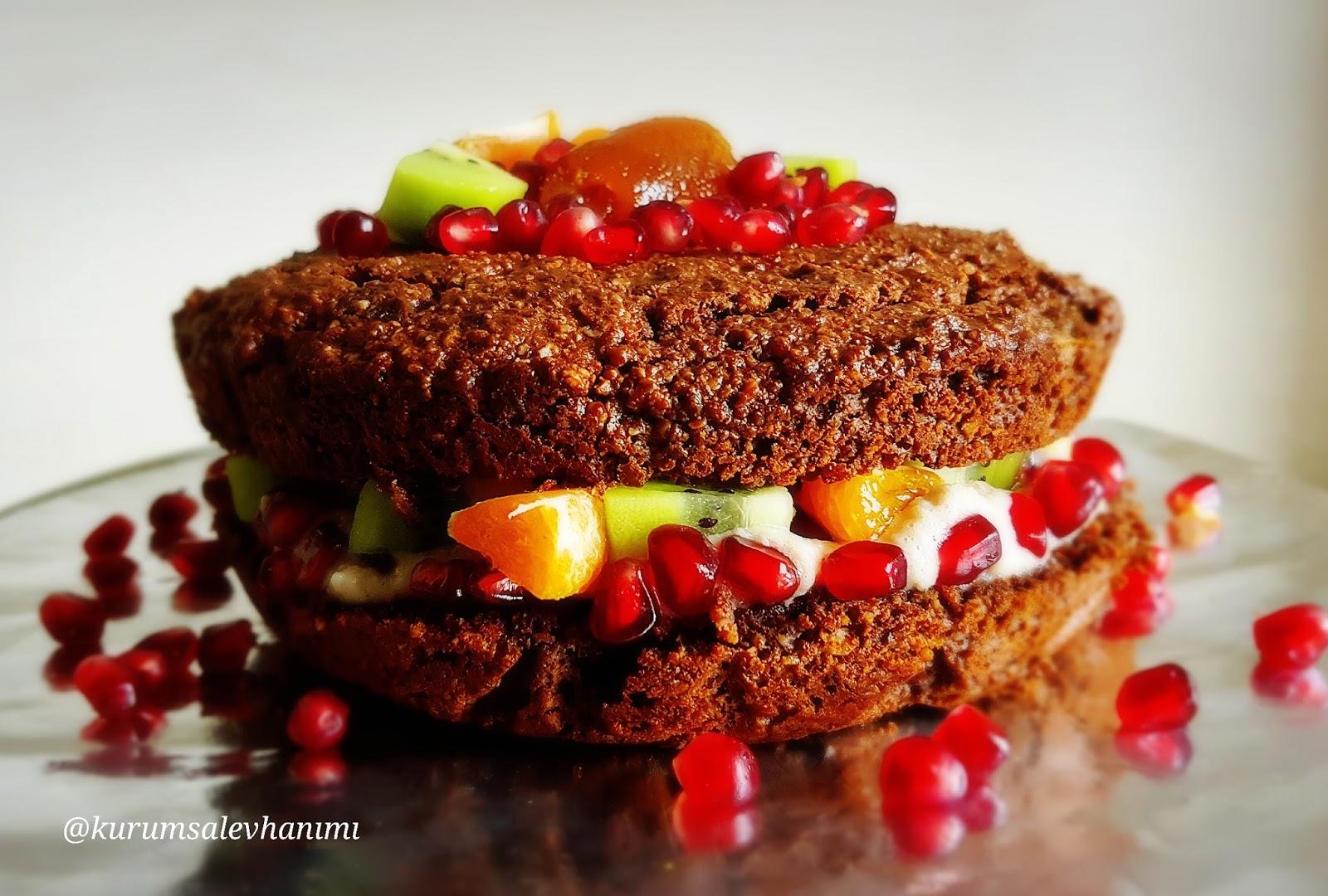 Mercimek Unlu Naked Cake - Kurumsal Ev Hanımı