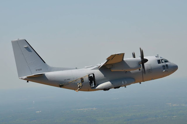UFC C-27J: learn about US Army's most advanced aircraft