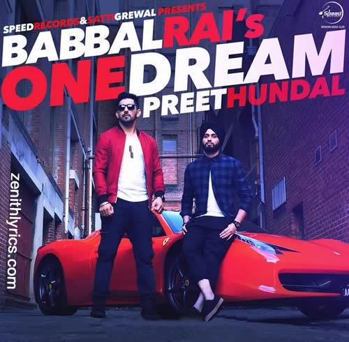 One Dream - Babbal Rai