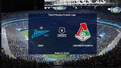 PES 2021 Scoreboard Tinkoff Russian Premier Liga
