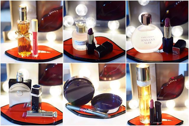 Estee Lauder Youth Dew/Sensuous Nude, Carven Le Parfum, Hermes Voyage d'Hermes, YSL Nu, Elizabeth Taylor White Diamonds