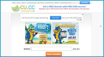 domain gratis cu cc