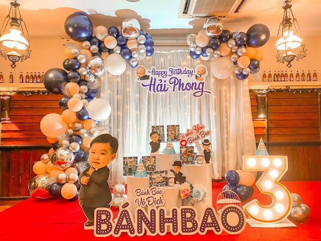 Trang trí sinh nhật cho bé tại nhà ở Nam Từ Liêm
