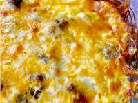 Low Carb Chile Relleno Casserole