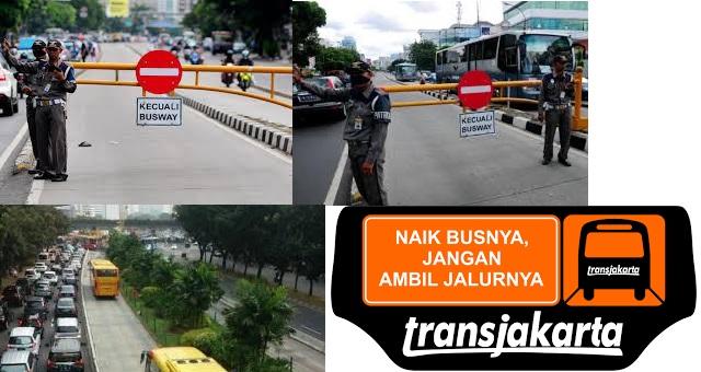 Penyerobot Busway Harus Dikenai Sanksi Yang Tegas Dan Konsisten