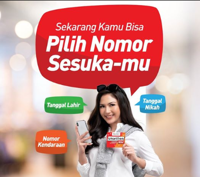 Ganti No Smartfren Favorit