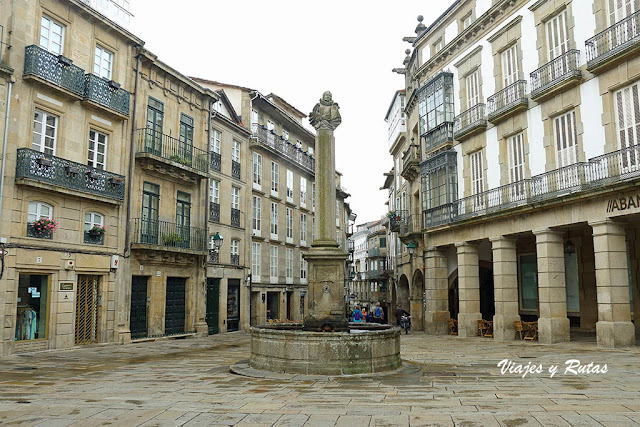Plaza de Cervantes, Santiago de Compostela