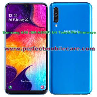 Samsung A50 (SM-A505F) U4 Touch Fix Firmware/Flash File Free Download