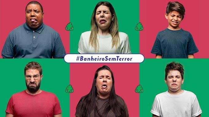 """FreeCô lança a campanha """"#BanheiroSemTerror"""" e comemora Dia das Bruxas"""