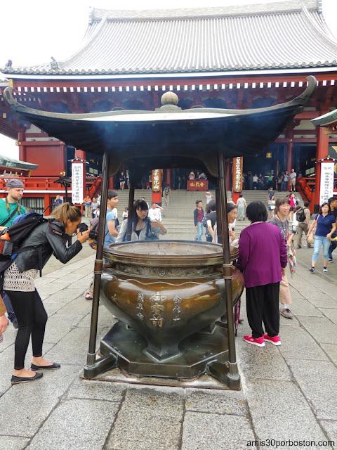 Jokoro del Templo Sensoji, Tokio