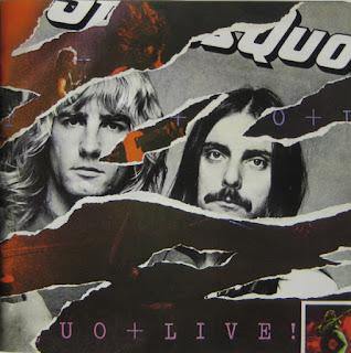 """Portada del doble album """"LIVE!"""" de STATUS QUO"""