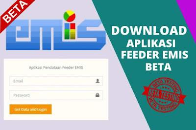Aplikasi Feeder Emis Versi Beta