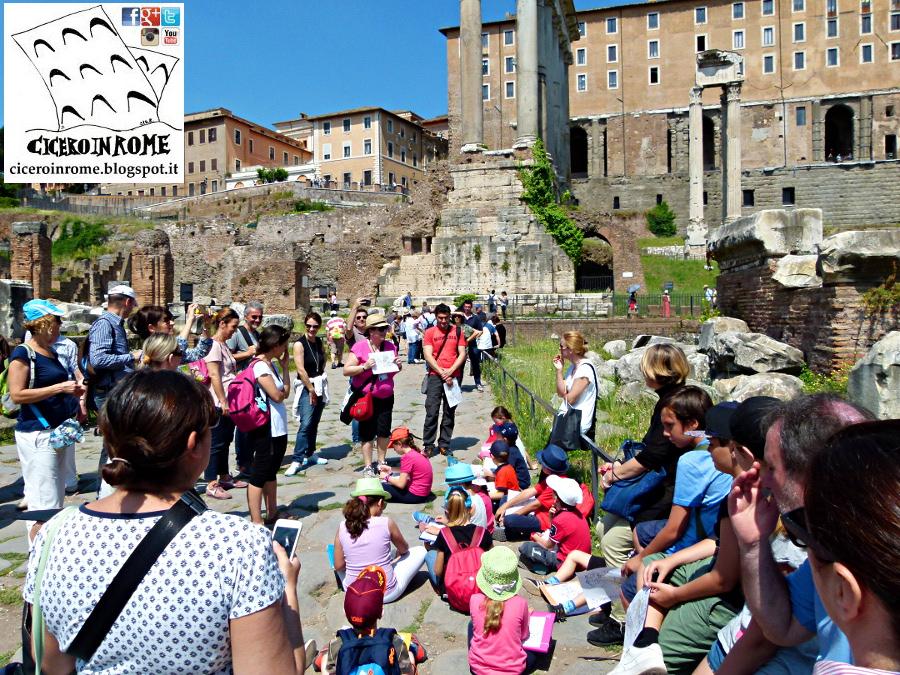 Bambini: Esplorando il Foro Romano. Visita e Attività Didattica