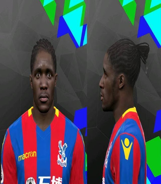 Wilfried Zaha Face PES 2017