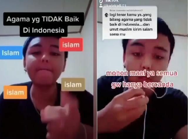 Viral Video TikTok Remaja di Bali Diduga Hina Islam, Akhirnya Minta Maaf