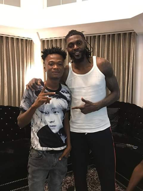 Don't forget those supporting you now when u make it - Adebayor to Imrana
