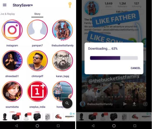 cara melihat instagram story orang lain secara anonim