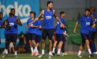 Barcelona yet to announce training date for their squad