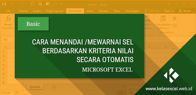 Menandai Sel di Microsoft Excel Berdasarkan Nilai Tertentu Secara Otomatis