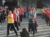 Peringati HUT Bhayangkara Ke-73, Polresta Surakarta Dan Kodim 0735/Surakarta Gelar Olahraga Bersama
