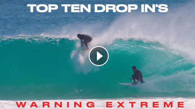TOP TEN DROP IN S - GOLDCOAST - SEPTEMBER 2021 - EXTREME ACTS OF SURFER ON SURFER CRIME
