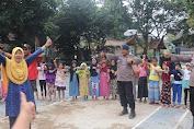 Satbrimobda Banten, Gelar Trauma Healing Bagi Anak-anak Korban Banjir di Sajira
