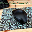 Make Over Your Mouse Pad With Fabric and Mod Podge ~ Christine & Co.