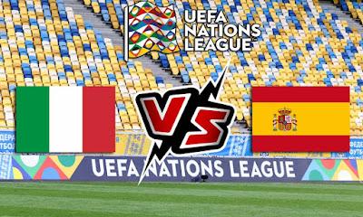 إيطاليا و إسبانيا بث مباشر
