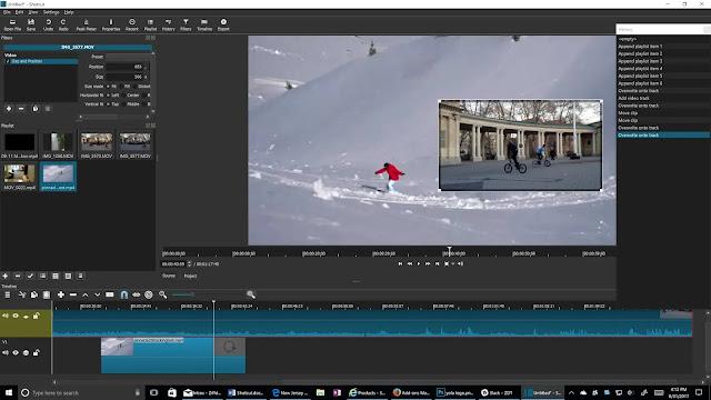 Shotcut Software Editing