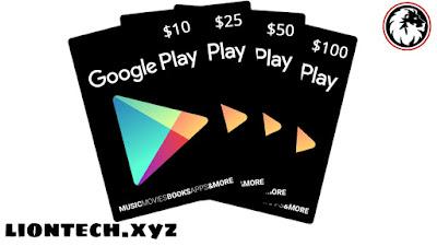 موقع يعطيك بطاقات جوجل بلاي أرقام بطاقات جوجل بلاي شغالة