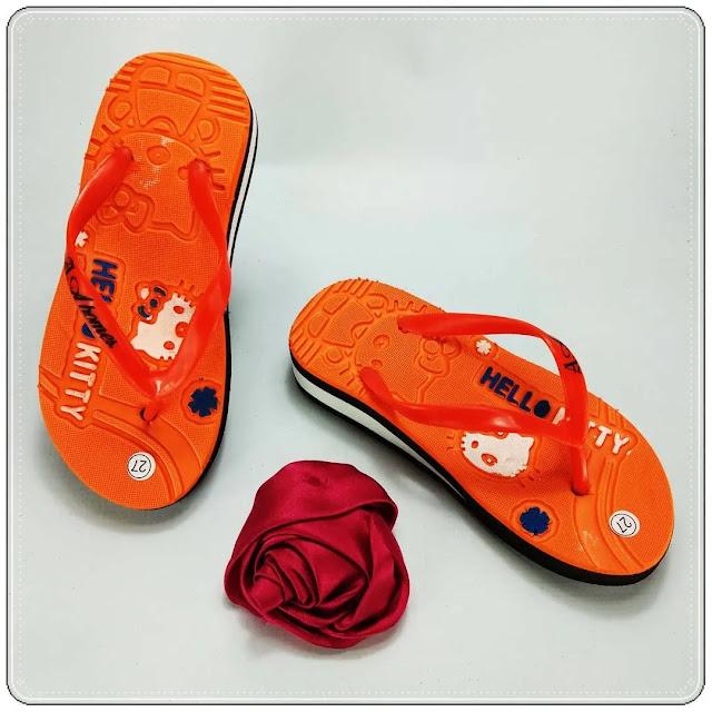 Sandal HK Spon Tebal Anak