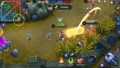 Skill Pertama (Qigong Fist) Hero Badang Mobile Legends