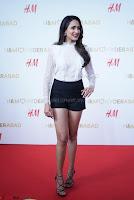 Pragya Jaiswal in lovely Black Mini Skirt and White Transparent Shirt ~  Exclusive 076.JPG
