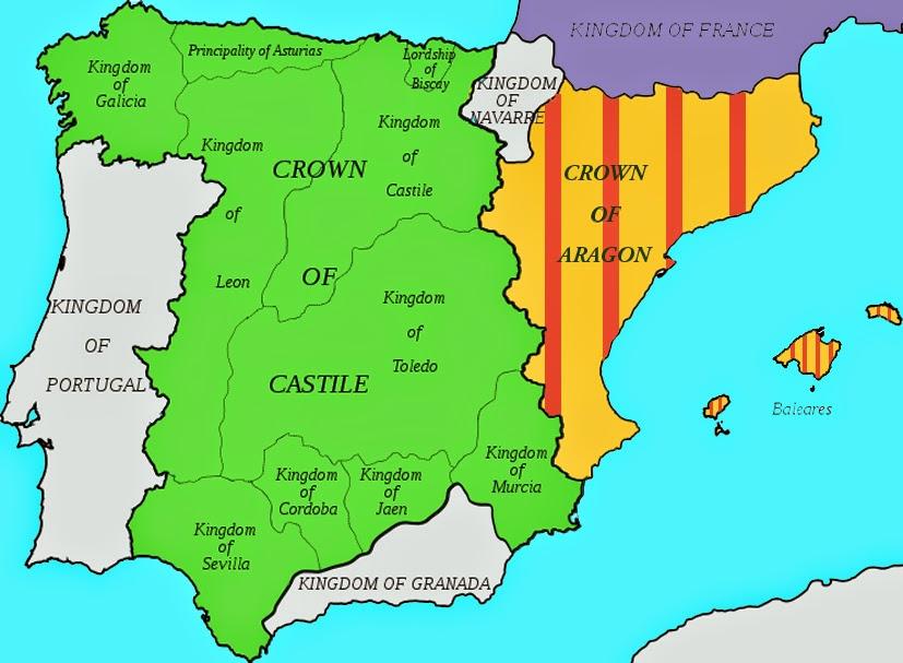 Hispània, 1400