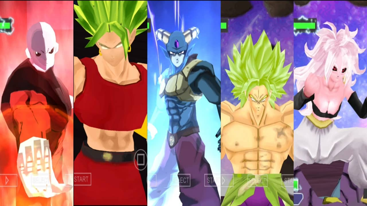 Super Dragon Ball Heroes DBZ TTT Mod