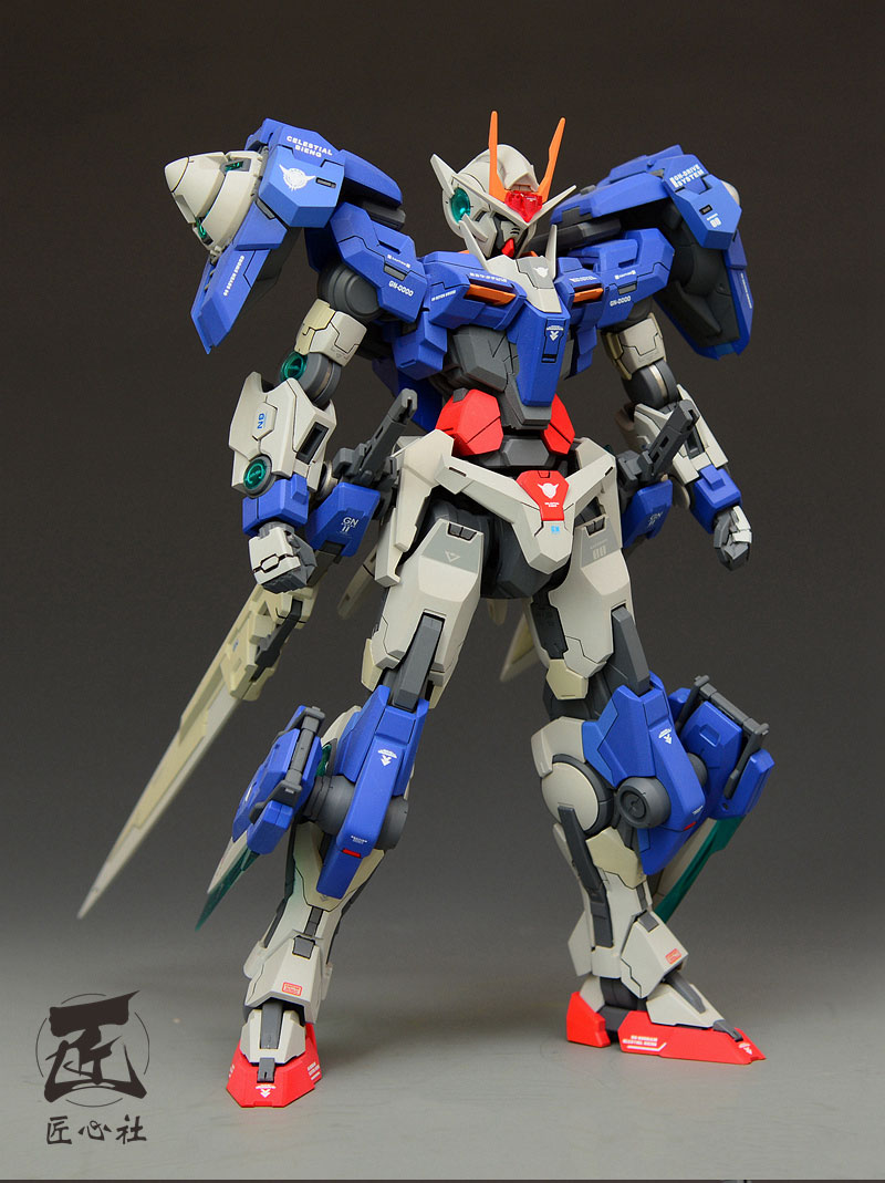 Custom Build: MG 1/100 00 Gundam Sven Sword / G [MSB Conversion]