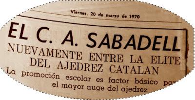 Entrevista al Presidente del Sabadell en 1970