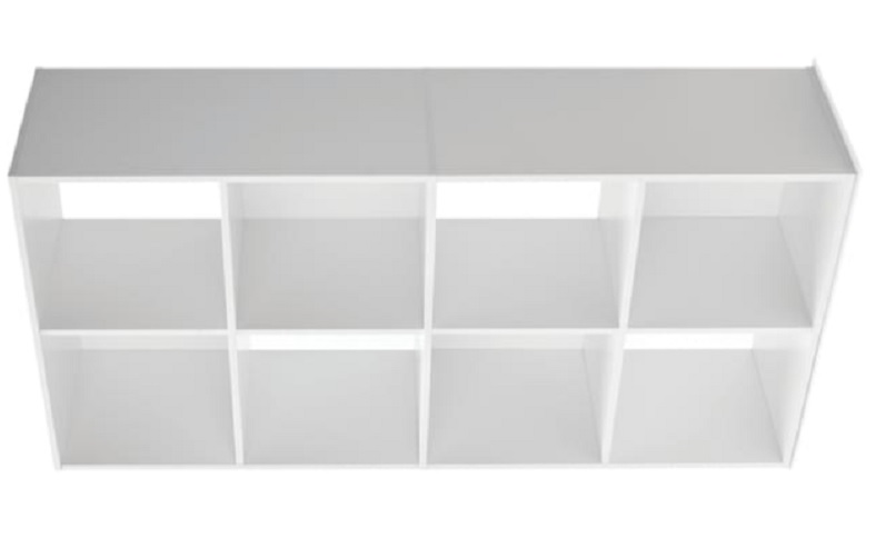 kmart 8 cube storage shelves