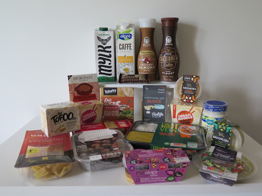 Vegan food haul from Sainsbury's