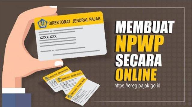 Daftar NPWP Online, Ini Langkah dan Petunjuk Mudahnya Sedulur Rembang
