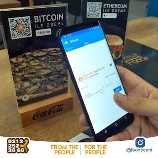 foodecent restoran bitcoin ile ödeme yapma resmi