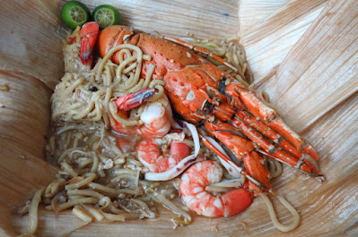 Geylang Lorong 29 lobster hokkien mee