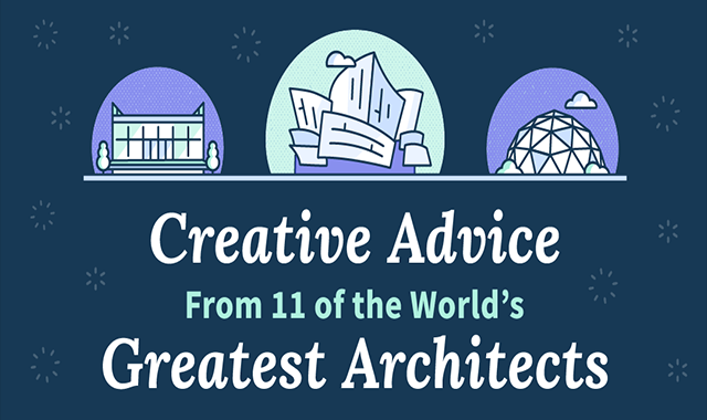 Creative Advice From 11 of the World's Greatest Architects