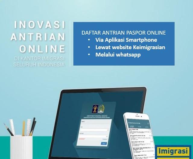 antrian paspor online