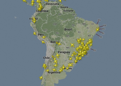 Resultado de imagem para trafego aéreo